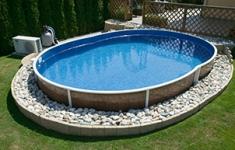 Как сделать бассейн на даче.